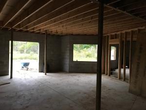 Basement Framing Doorway