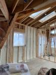 Insulation install kitchen and solariuim