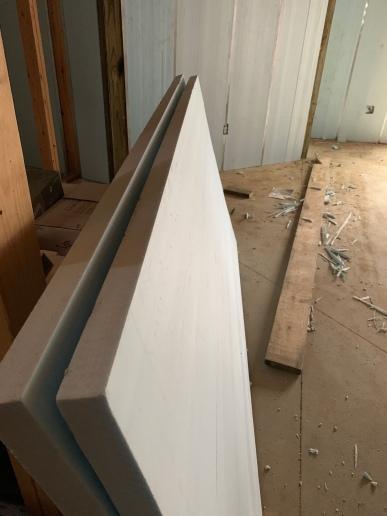 Foam insulation for the basement