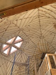 Insulation in dome