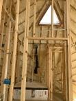 Insulation install upstairs bathroom