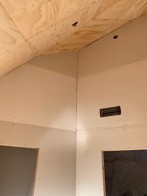 Drywall meets plywood