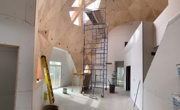 Completed Drywall: Entry view