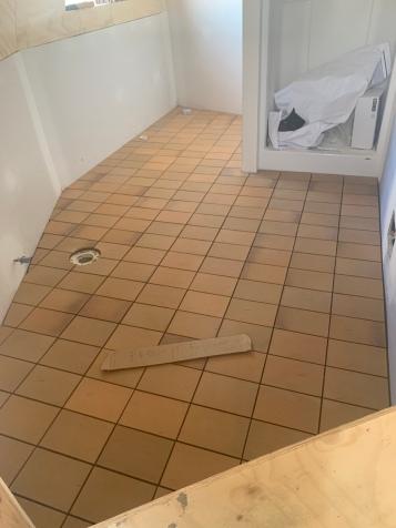Tile in Master Bath