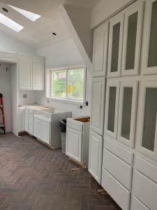 Kitchen cabinet install west side