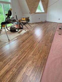 Eucalyptus Floor begins