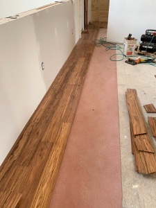 Flooring install second floor